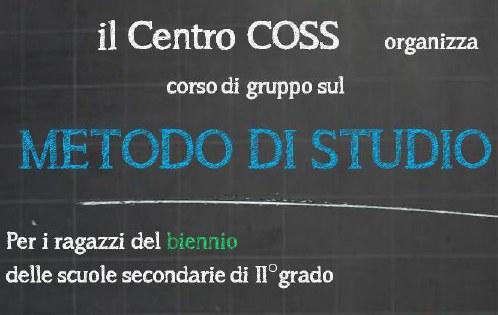 Corso per il Metodo di Studio al COSS