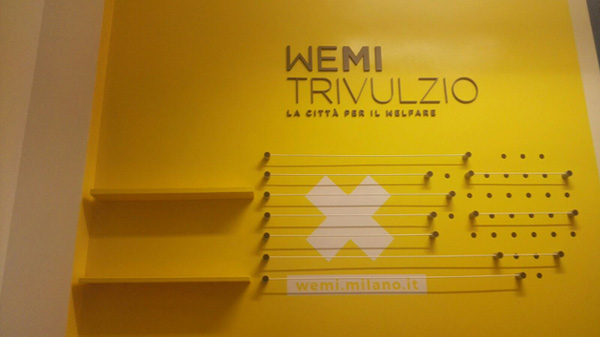Inaugurato il nuovo spazio WeMi Trivulzio