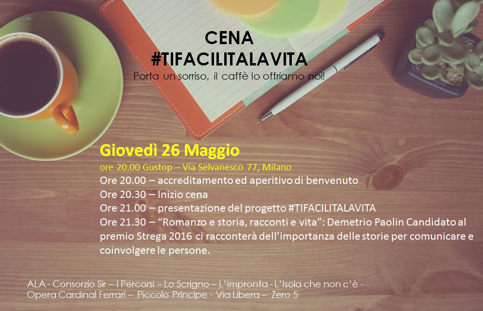 Eureka partecipa all'iniziativa #TiFacilitaLaVita