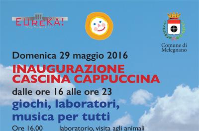 29 maggio grande festa per la rinascita di Cascina Cappuccina