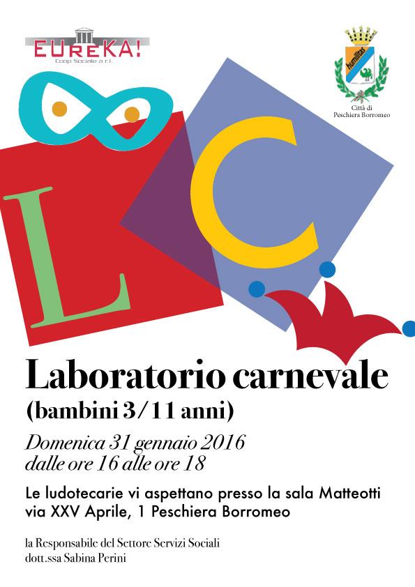 Laboratorio di Carnevale a Peschiera Borromeo