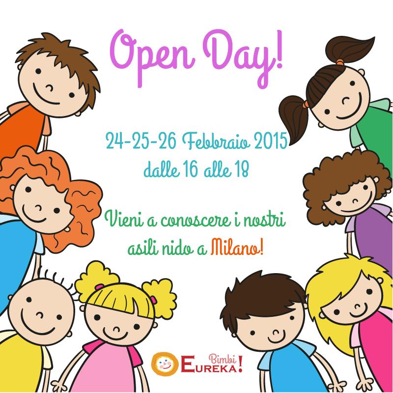 Open Day Asili Nido Milano 24-26 Febbraio 2015